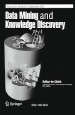 Data Mining and Knowledge Discovery 5/2021