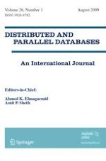 Distributed and Parallel Databases 1/2009