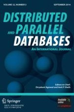 Distributed and Parallel Databases 3/2014