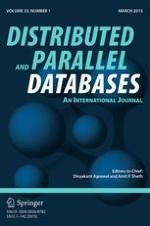 Distributed and Parallel Databases 1/2015