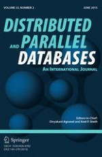 Distributed and Parallel Databases 2/2015