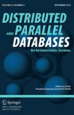 Distributed and Parallel Databases 3/2015