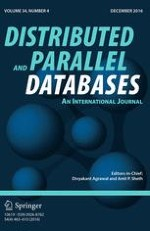 Distributed and Parallel Databases 4/2016