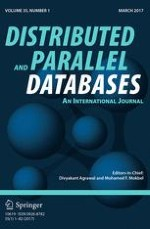 Distributed and Parallel Databases 1/2017