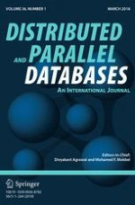 Distributed and Parallel Databases 1/2018