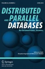 Distributed and Parallel Databases 2/2018