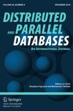 Distributed and Parallel Databases 4/2018