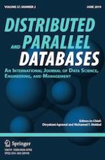 Distributed and Parallel Databases 2/2019