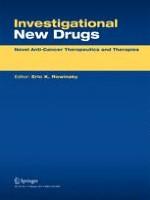 Investigational New Drugs 4/2006