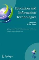 Education and Information Technologies 5/2016