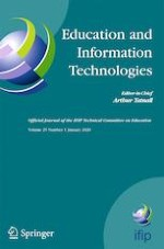 Education and Information Technologies 1/2020