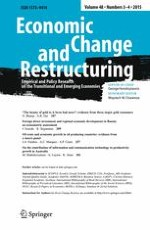 Economic Change and Restructuring 3-4/2015