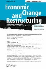 Economic Change and Restructuring 2/2018