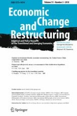 Economic Change and Restructuring 3/2018