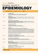 European Journal of Epidemiology 4/2013