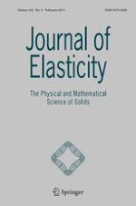 Journal of Elasticity 2/2011