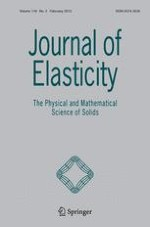 Journal of Elasticity 2/2015