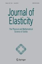 Journal of Elasticity 1/2015