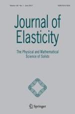 Journal of Elasticity 1/2017