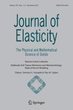 Journal of Elasticity 1-2/2017