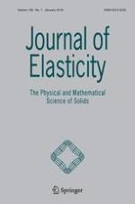 Journal of Elasticity 1/2018