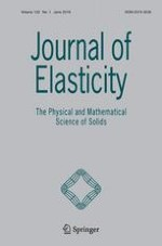 Journal of Elasticity 1/2018