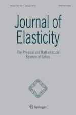 Journal of Elasticity 1/2019