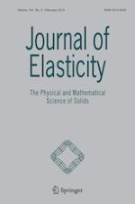 Journal of Elasticity 2/2019