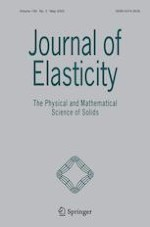 Journal of Elasticity 2/2020