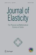 Journal of Elasticity 1/2021