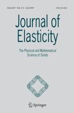 Journal of Elasticity 2-3/2007