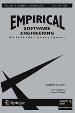 Empirical Software Engineering 6/2009
