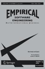 Empirical Software Engineering 3/2011