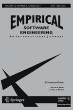 Empirical Software Engineering 5/2011