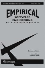 Empirical Software Engineering 4/2014