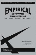 Empirical Software Engineering 4/2016