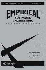 Empirical Software Engineering 3/2017