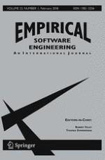 Empirical Software Engineering 1/2018