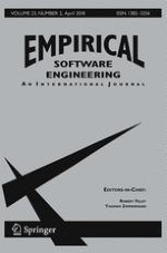 Empirical Software Engineering 2/2018