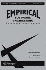 Empirical Software Engineering 5/2018