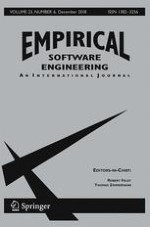 Empirical Software Engineering 6/2018