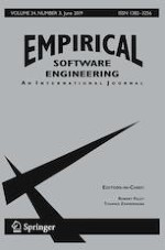Empirical Software Engineering 3/2019