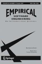 Empirical Software Engineering 5/2019