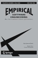 Empirical Software Engineering 2/2020