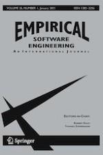 Empirical Software Engineering 1/2021