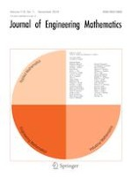 Journal of Engineering Mathematics 1/2019