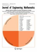 Journal of Engineering Mathematics 1/2013