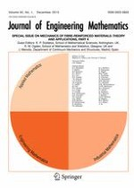 Journal of Engineering Mathematics 1/2015