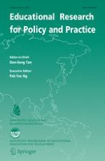 Educational Research for Policy and Practice 3/2016