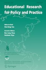Educational Research for Policy and Practice 1/2020